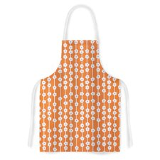 You Cute by Heidi Jennings Tangerine Artistic Apron