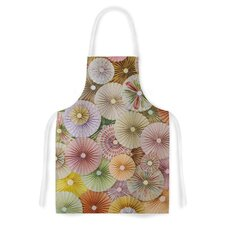 Spring by Heidi Jennings Pastels Abstract Artistic Apron