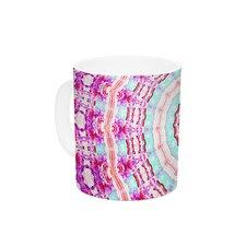 Happy by Iris Lehnhardt 11 oz. Circle Ceramic Coffee Mug