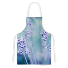 Lavender Dream by Iris Lehnhardt Flower Artistic Apron