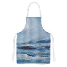 Rough Sea by Iris Lehnhardt Ocean Artistic Apron