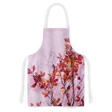 Autumn Symphony by Iris Lehnhardt Orange Artistic Apron