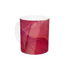 Delicate Leaves by Ingrid Beddoes 11 oz. Ceramic Coffee Mug