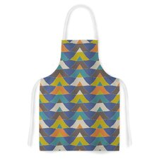 Colorful Triangles by Julia Grifol Artistic Apron