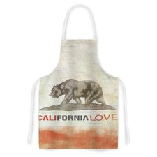 Cali Love by iRuz33 Artistic Apron