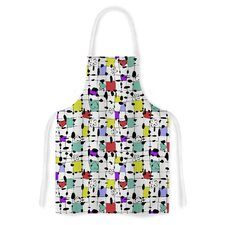 My Happy Squares by Julia Grifol Artistic Apron