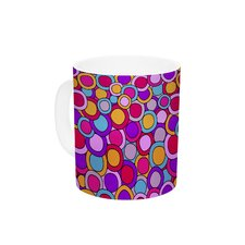 My Colourful Circles by Julia Grifol 11 oz. Ceramic Coffee Mug