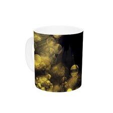 Moonlight Dandelion by Ingrid Beddoes 11 oz. Ceramic Coffee Mug
