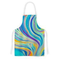 Rainbow Swirl by Ingrid Beddoes Artistic Apron