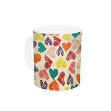 Little Hearts by Louise Machado 11 oz. Ceramic Coffee Mug