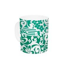Esmerald by Louise Machado 11 oz. Ceramic Coffee Mug