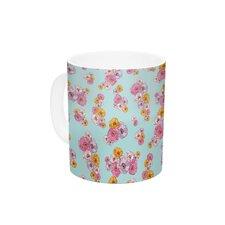 Paper Flower by Laura Escalante 11 oz. Ceramic Coffee Mug