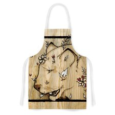 Panther by Jennie Penny Artistic Apron