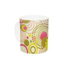 Poa by Louise Machado 11 oz. Ceramic Coffee Mug