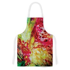 Passion Flowers I by Mary Bateman Artistic Apron