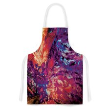Passion Flowers II by Mary Bateman Artistic Apron