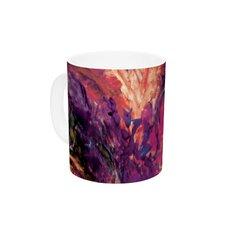 Passion Flowers II by Mary Bateman 11 oz. Ceramic Coffee Mug