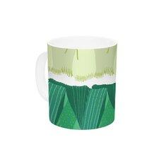 Leeks by Laura Nicholson 11 oz. Ceramic Coffee Mug