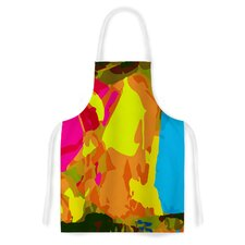 Colored Plastic by Matthias Hennig Artistic Apron