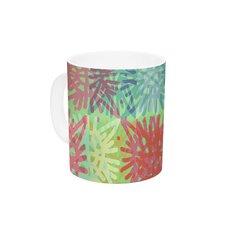 Multi Lacy by Laura Nicholson 11 oz. Ceramic Coffee Mug