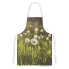 As You Wish by Libertad Leal Dandelions Artistic Apron