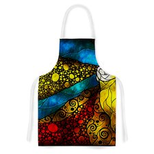 What Child Is This by Mandie Manzano Artistic Apron