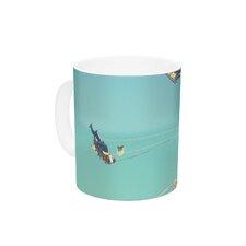 Flying Chairs by Libertad Leal 11 oz. Ceramic Coffee Mug