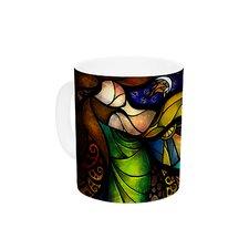 Sleep and Awake by Mandie Manzano 11 oz. Ceramic Coffee Mug