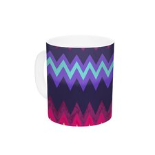 Surf Chevron by Nika Martinez 11 oz. Ceramic Coffee Mug