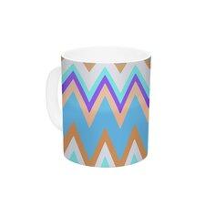 Girly Surf Chevron by Nika Martinez 11 oz. Ceramic Coffee Mug