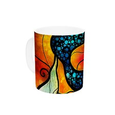 Ariel by Mandie Manzano 11 oz. Mermaid Ceramic Coffee Mug