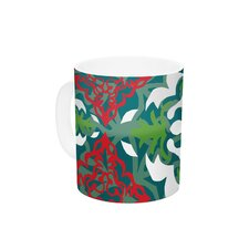 Lace Flakes by Miranda Mol 11 oz. Ceramic Coffee Mug