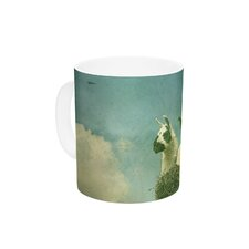 Never Stop Exploring by Monika Strigel 11 oz. Ceramic Coffee Mug