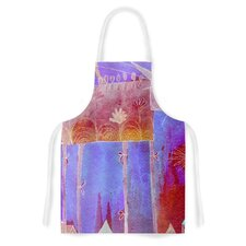 Scary Song About Love by Marianna kelevich Artistic Apron