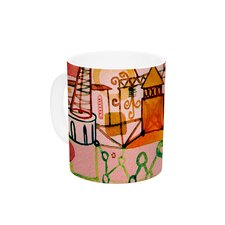 Happy Town by Marianna Tankelevich 11 oz. Ceramic Coffee Mug