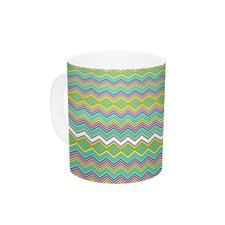 Chevron Love by Nicole Ketchum 11 oz. Ceramic Coffee Mug