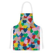 More Hearts by Project M Artistic Apron