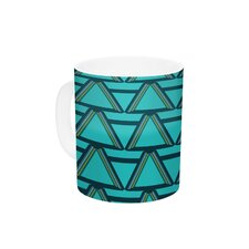Deco Angles by Nina May 11 oz. Ceramic Coffee Mug