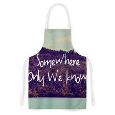 Somewhere by Rachel Burbee Artistic Apron