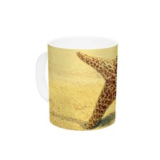 Once upon a Time by Robin Dickinson 11 oz. Starfish Ceramic Coffee Mug