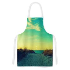 Walk With Love by Robin Dickinson Artistic Apron
