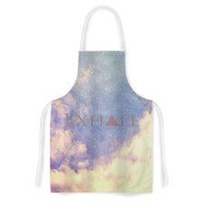 Exhale by Rachel Burbee Artistic Apron