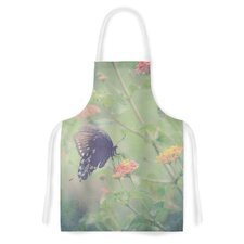 Captivating II by Robin Dickinson Flower Artistic Apron