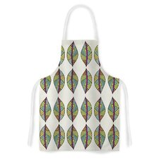 Tribal Leaves by Pom Graphic Design Artistic Apron
