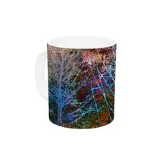Trees in the Night by Sylvia Cook 11 oz. Ceramic Coffee Mug