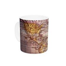 Wander by Sylvia Cook 11 oz. Ceramic Coffee Mug