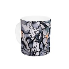 Inky Bouquet by Sonal Nathwani 11 oz. Ceramic Coffee Mug