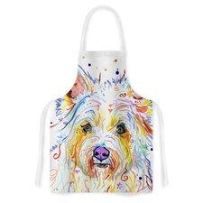 Bella by Rebecca Fischer Scottish Terrier Artistic Apron