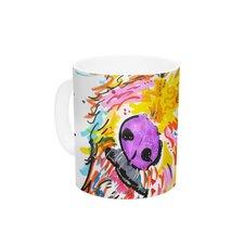 Koda by Rebecca Fischer 11 oz. Labradoodle Ceramic Coffee Mug