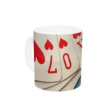 Love by Skye Zambrana 11 oz. Ceramic Coffee Mug